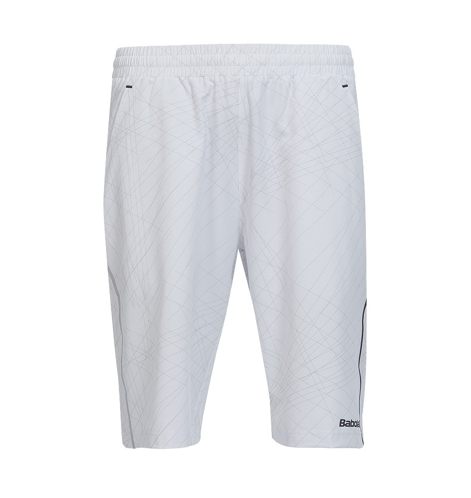 Spodenki tenisowe chłopięce Babolat Match Performance Short White