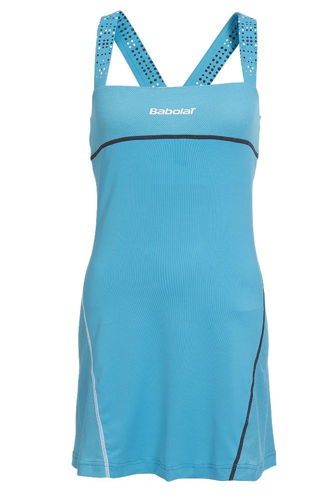 Sukienka tenisowa Babolat Match Performance Dress Blue - Wyprzedaż!