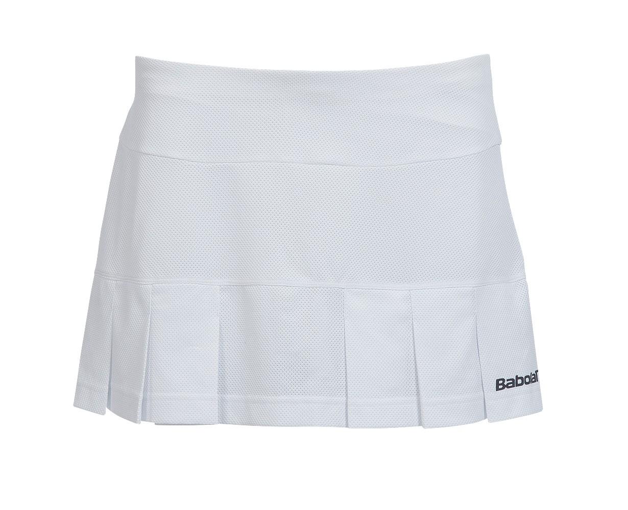 Spódniczka tenisowa dziewczęca Babolat Babolat Match Performance Skort White