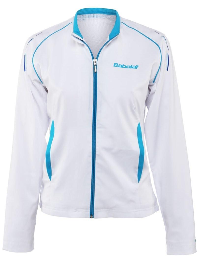 Bluza tenisowa dziewczęca Babolat Jacket Match Core - wyprzedaż!