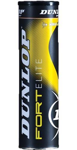 Piłki tenisowe Dunlop Fort Elite 4szt