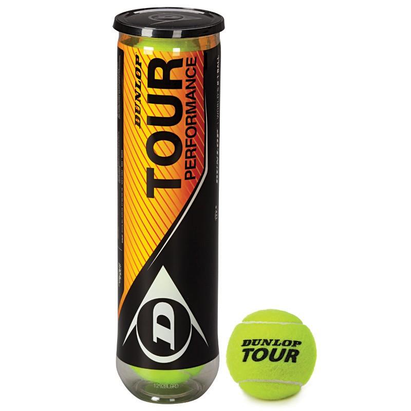 Piłki tenisowe Dunlop Tour Peformance karton 18 puszek x4szt.