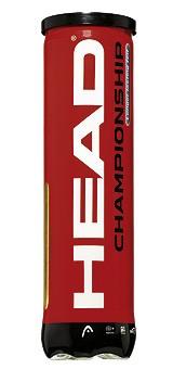 Piłki tenisowe Head Championship 4szt