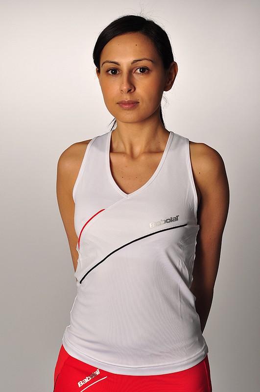 Koszulka tenisowa damska Babolat Club Tank Top - wyprzedaż!
