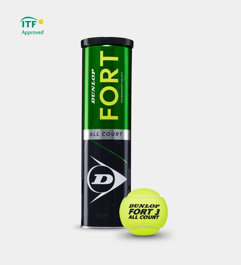 Piłki tenisowe Dunlop Fort All Court - karton 18 puszek x 4szt
