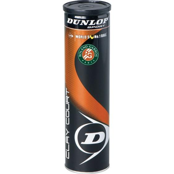 Piłki tenisowe Dunlop Fort  Clay Court 4szt