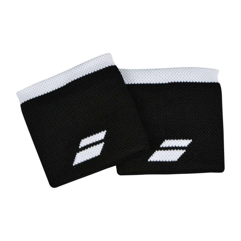 Frotki tenisowe Babolat Wristbands black