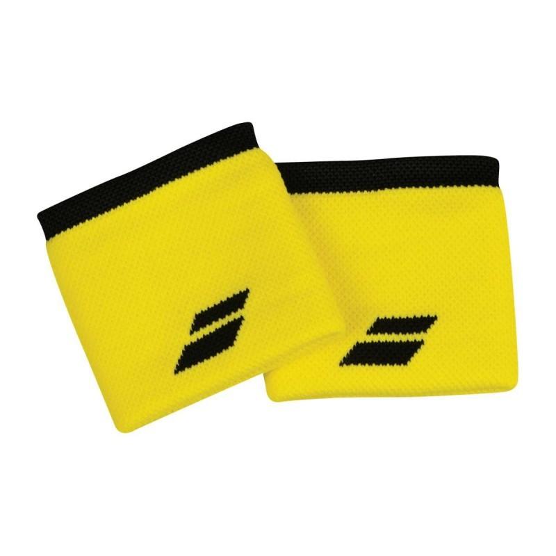 Frotki tenisowe Babolat Wristbands yellow