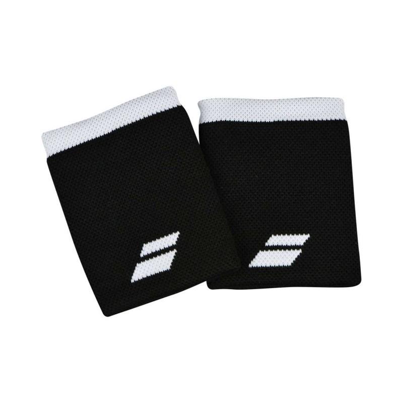 Frotki tenisowe Babolat Jumbo Wristbands black