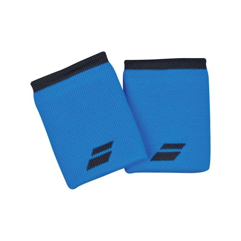 Frotki tenisowe Babolat Jumbo Wristbands blue
