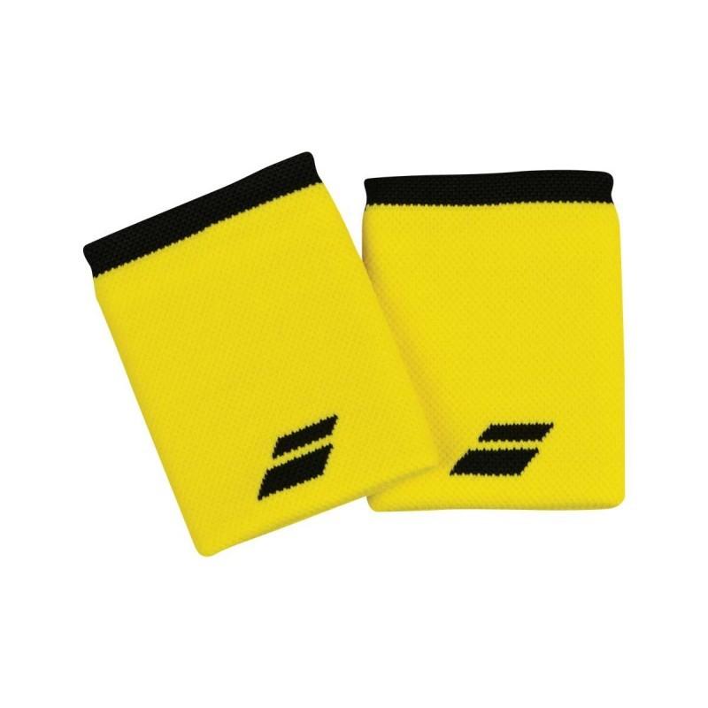 Frotki tenisowe Babolat Jumbo Wristbands yellow