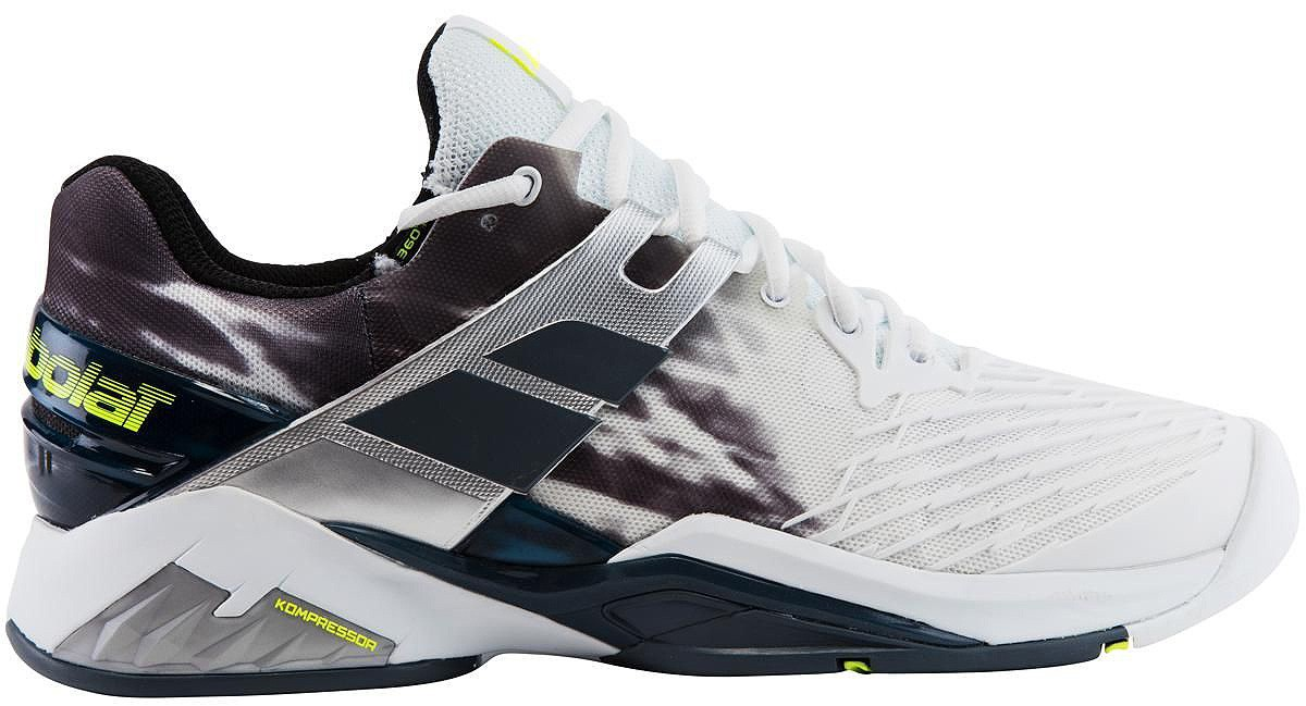 Buty tenisowe Babolat Propulse Fury All Court Black & White