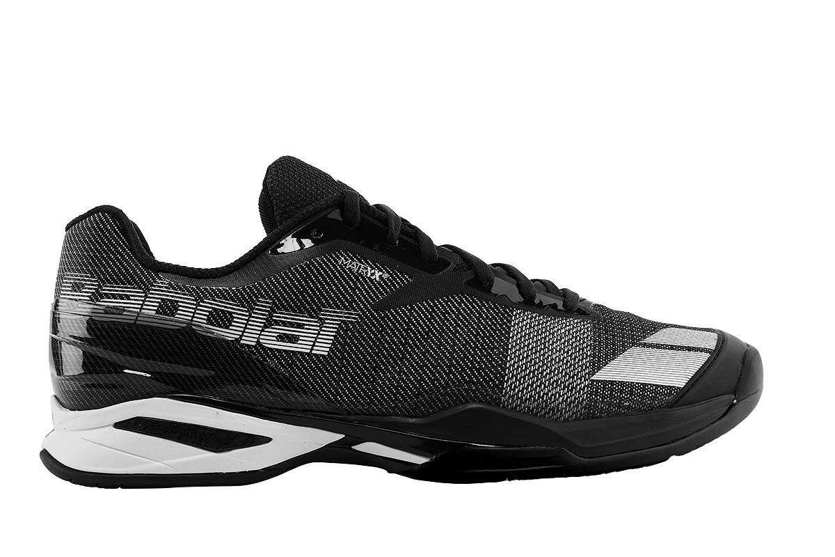 Buty tenisowe Babolat Jet Clay black / white - wyprzedaż!