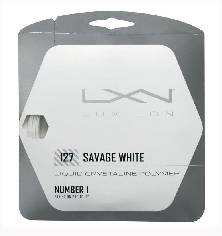 Naciąg tenisowy Luxilon Savage White