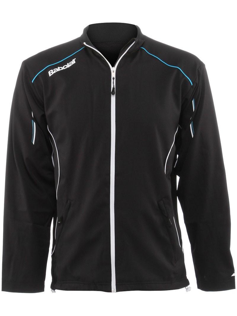 Bluza tenisowa Babolat Jacket Match Core Black - Wyprzedaż!
