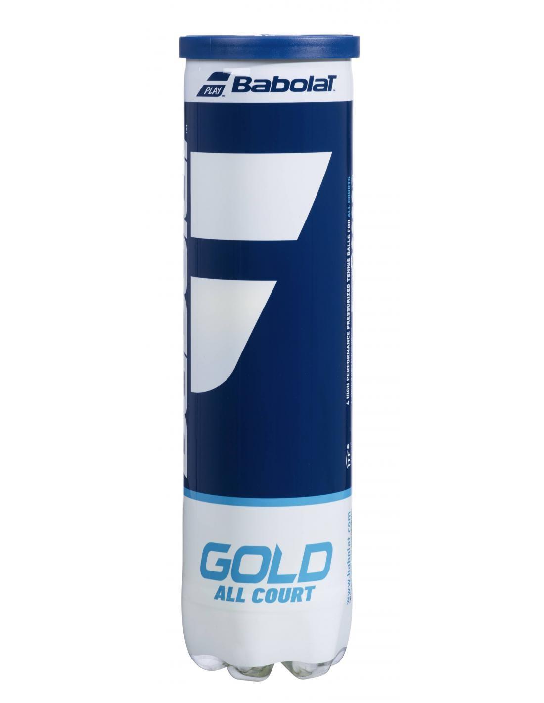 Piłki tenisowe Babolat Gold All Court 4szt