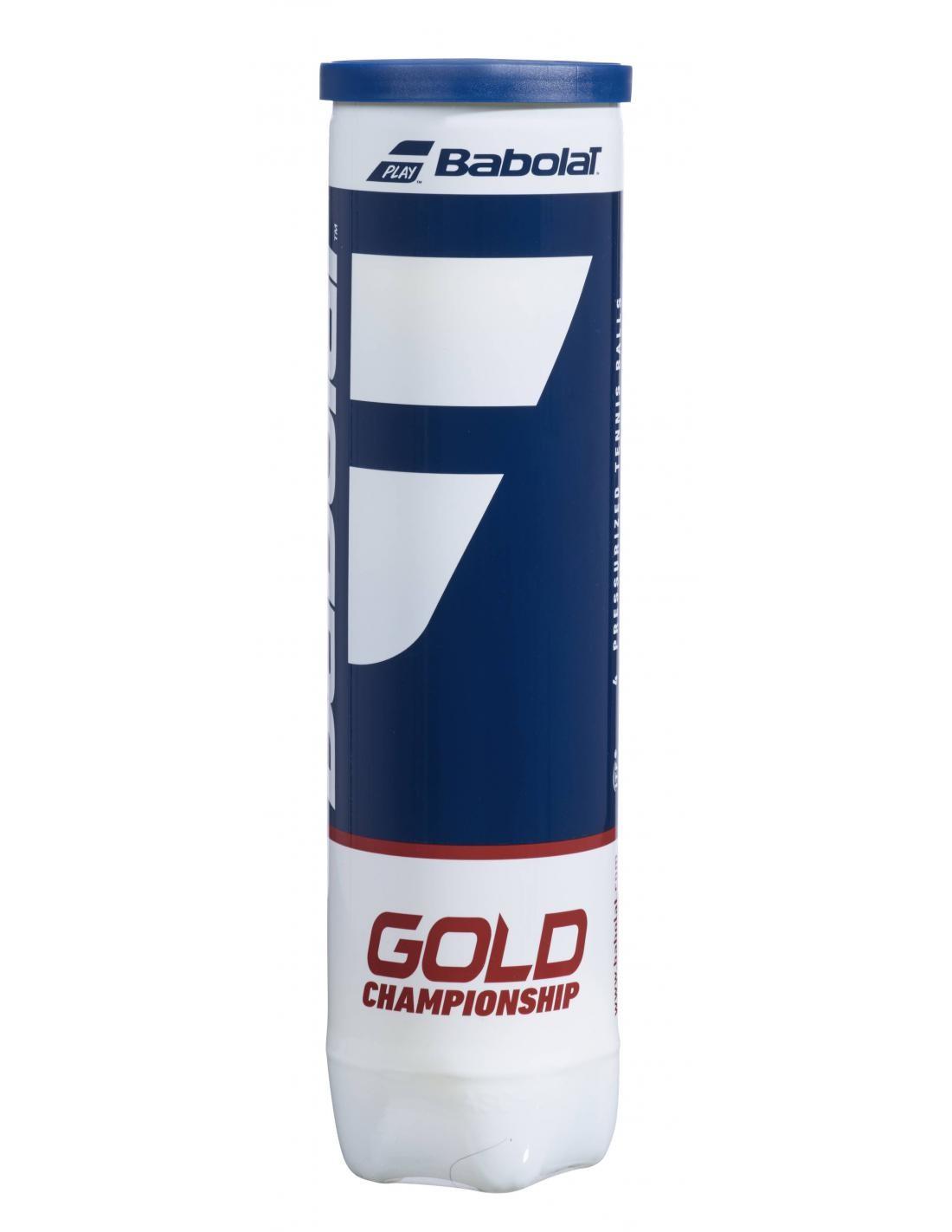Piłki tenisowe Babolat Gold Championship 4szt