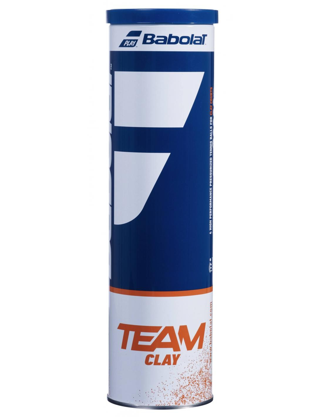 Piłki Tenisowe Babolat Team Clay 4szt