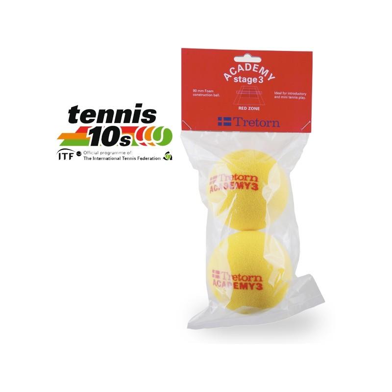 Piłki tenisowe Tretorn Red Foam 2 szt