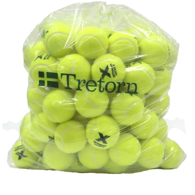 Piłki tenisowe Tretorn MicroX worek 72 szt.