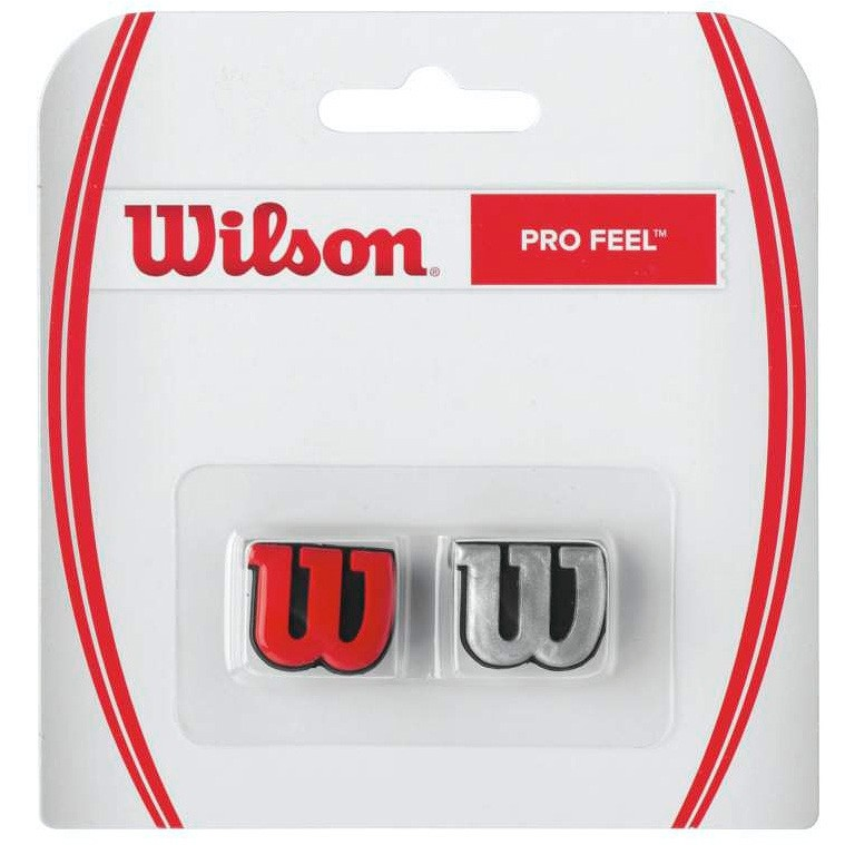 Wibrastop Wilson Pro Feel Silver-Red