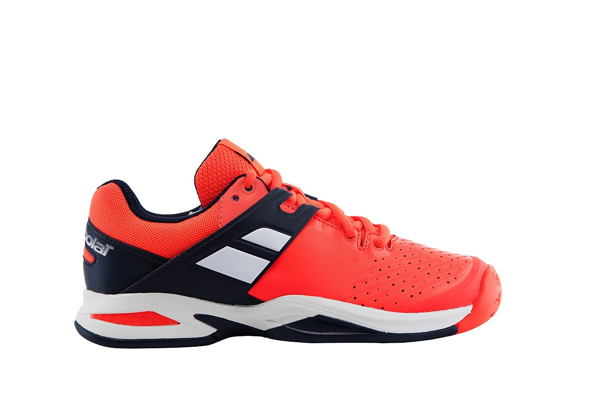 Buty tenisowe Babolat Propulse Junior Fluo Red