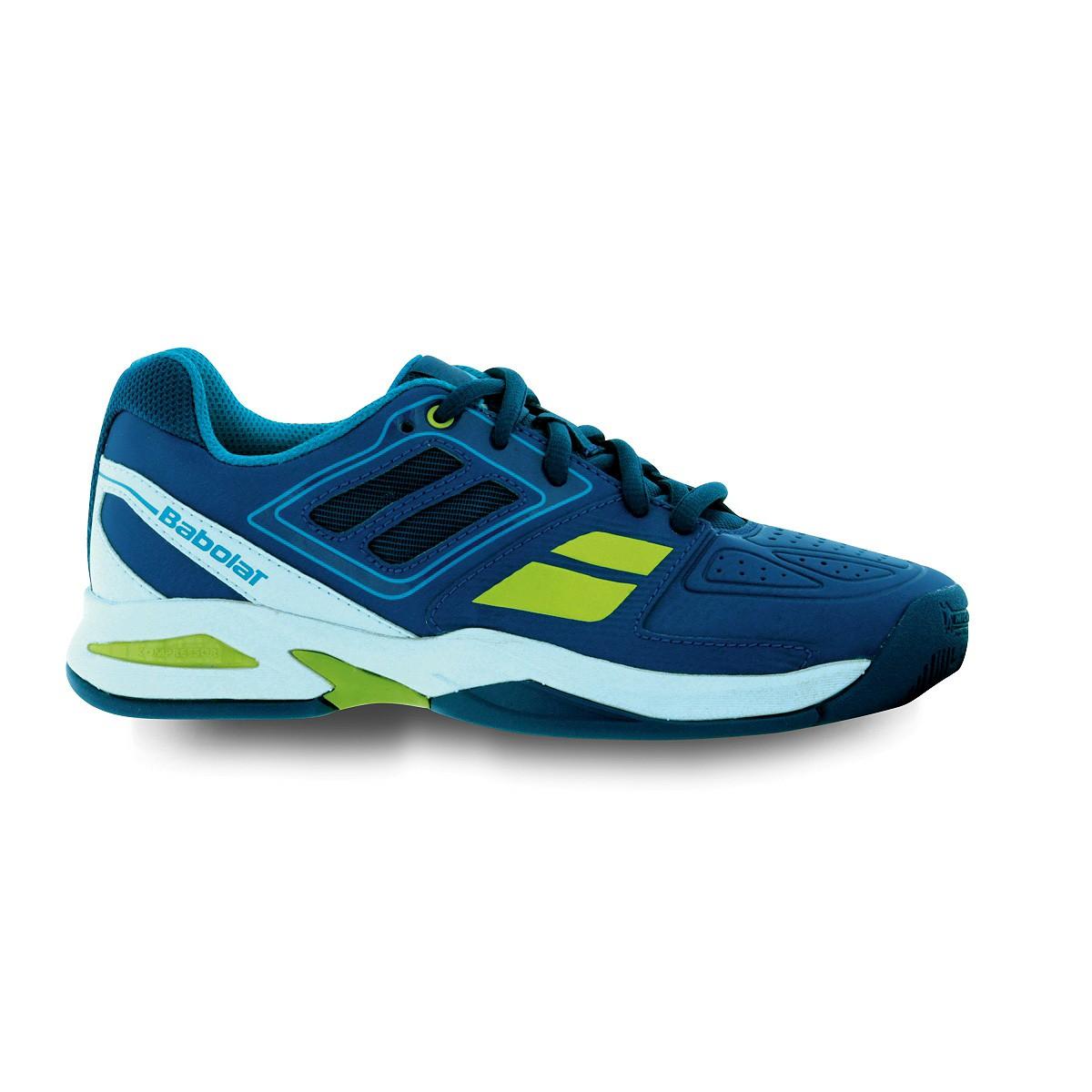 Buty tenisowe Babolat Propulse Team BPM Junior Blue - Wyprzedaż!