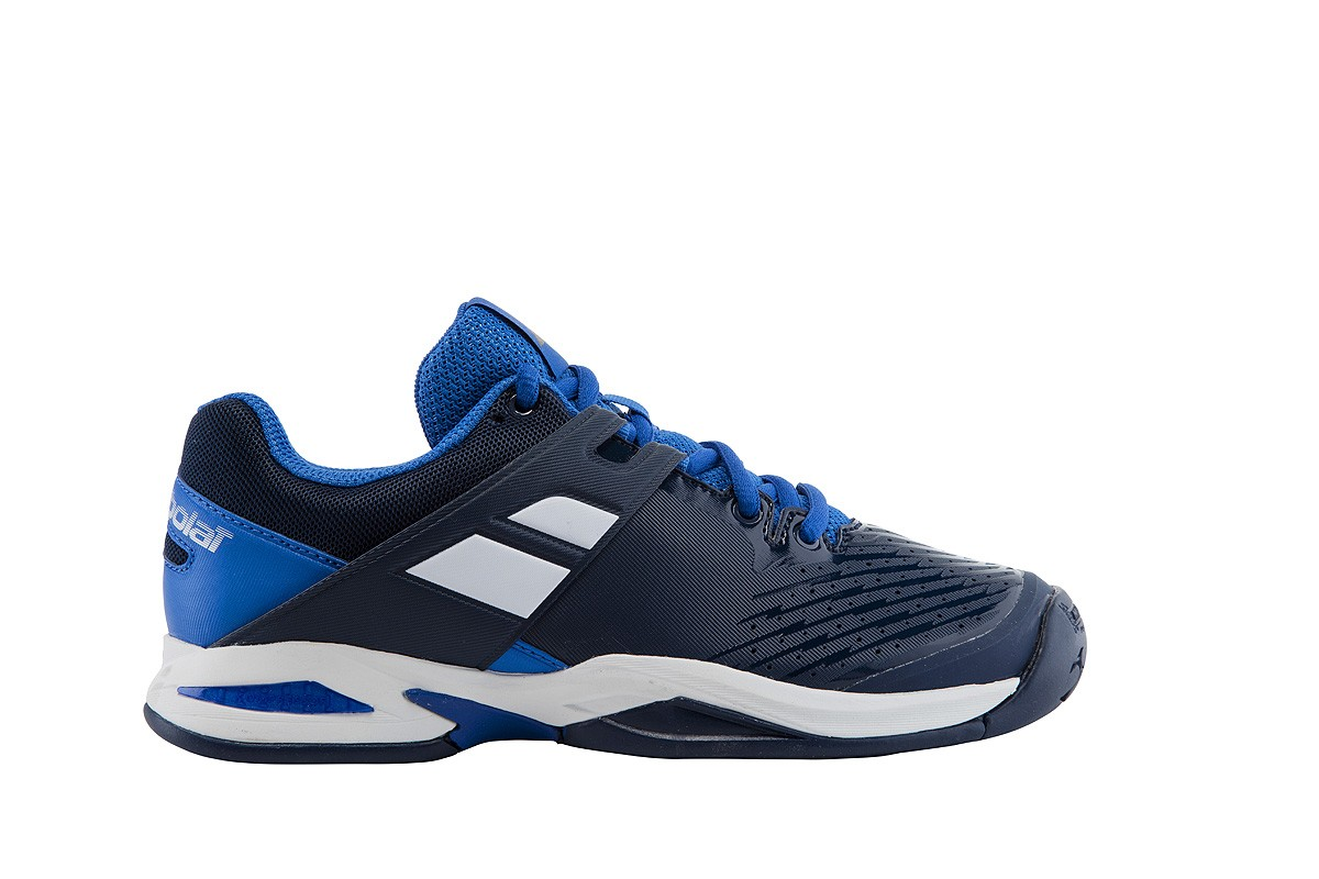 Buty tenisowe Babolat Propulse Junior Dark Blue - Wyprzedaż!