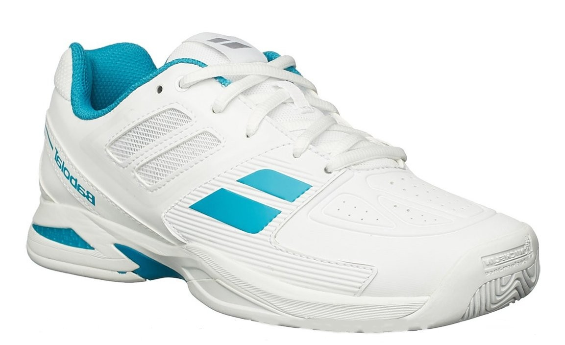 Buty tenisowe Babolat Propulse Team Junior White- Wyprzedaż!