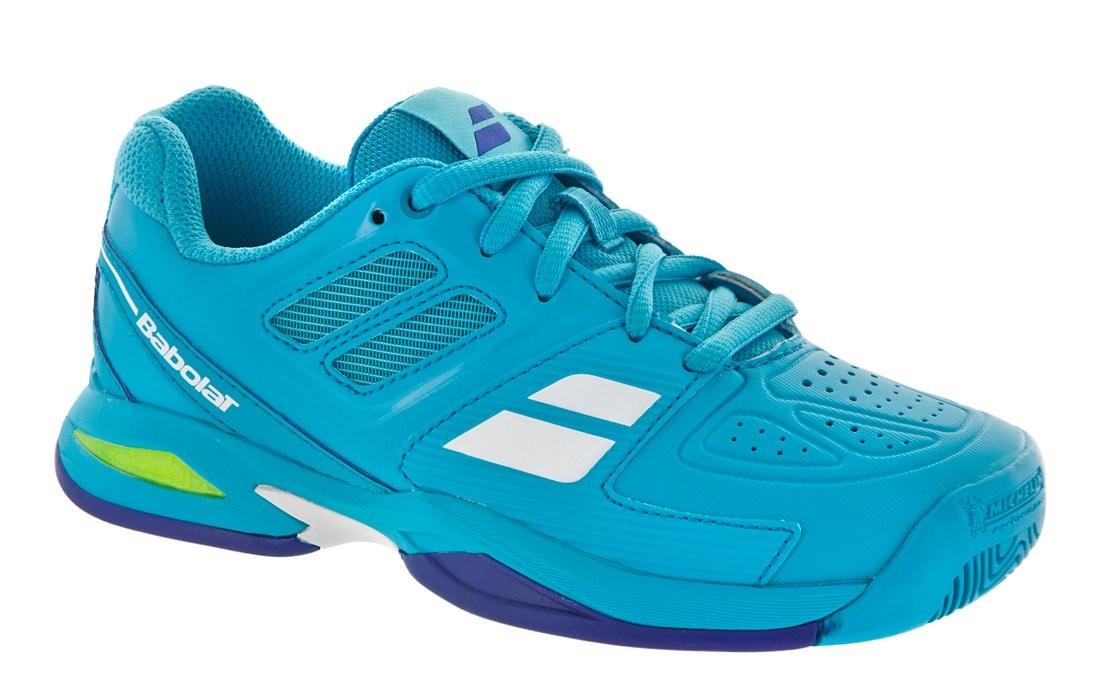 Buty tenisowe Babolat Propulse Team Junior Blue - Wyprzedaż!
