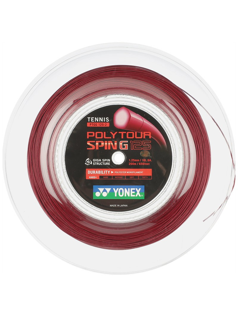Naciąg tenisowy Yonex Poly Tour Spin G
