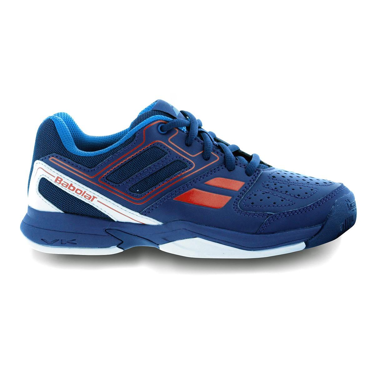 Buty tenisowe Babolat Pulsion BPM Junior Blue - Wyprzedaż!