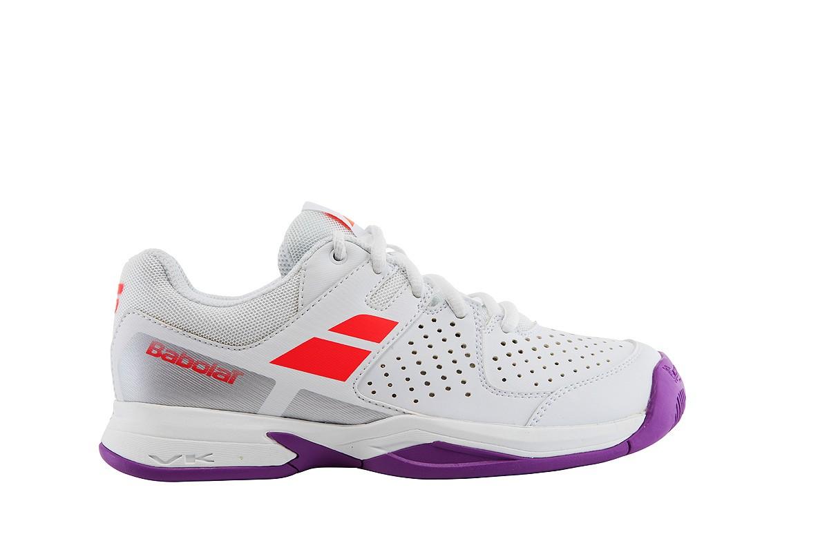 Buty tenisowe Babolat Pulsion Junior White