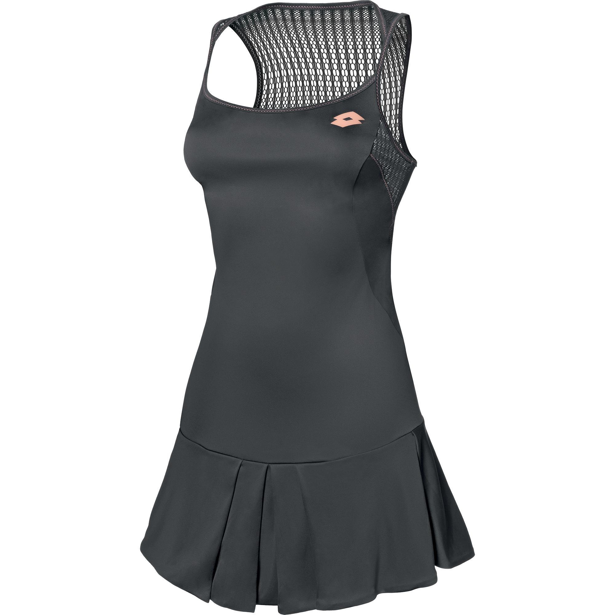 Sukienka tenisowa Lotto Nixia II Dress - grey shark - wyprzedaż!
