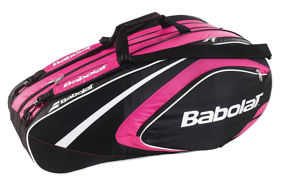 Torba tenisowa Babolat Club Line Racket Holder 12 pink