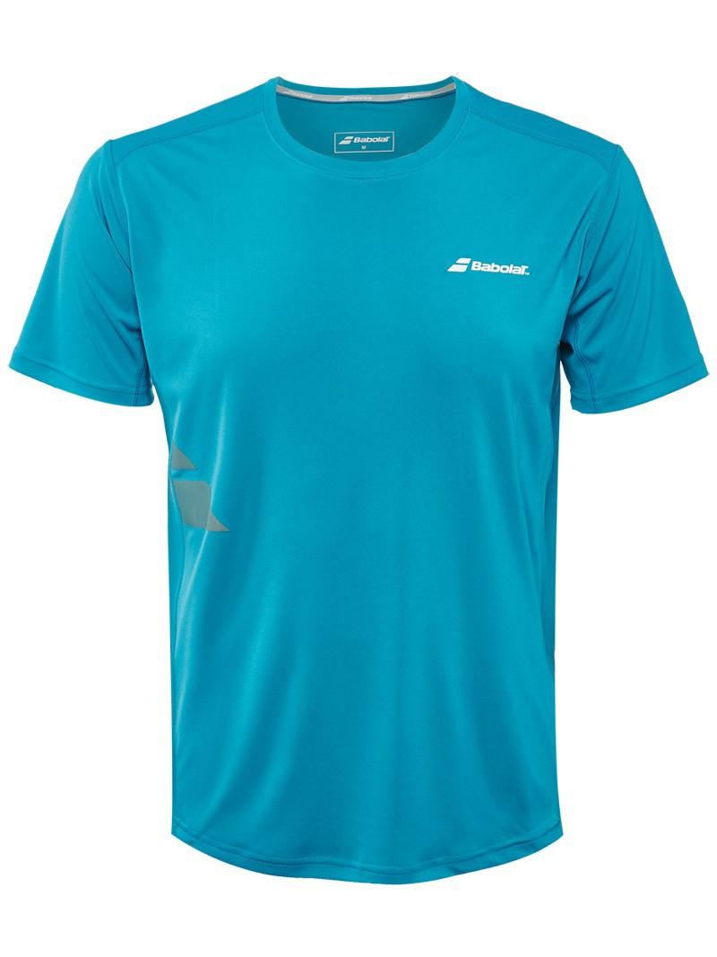 Koszulka tenisowa Babolat T-Shirt Flag Core Blue