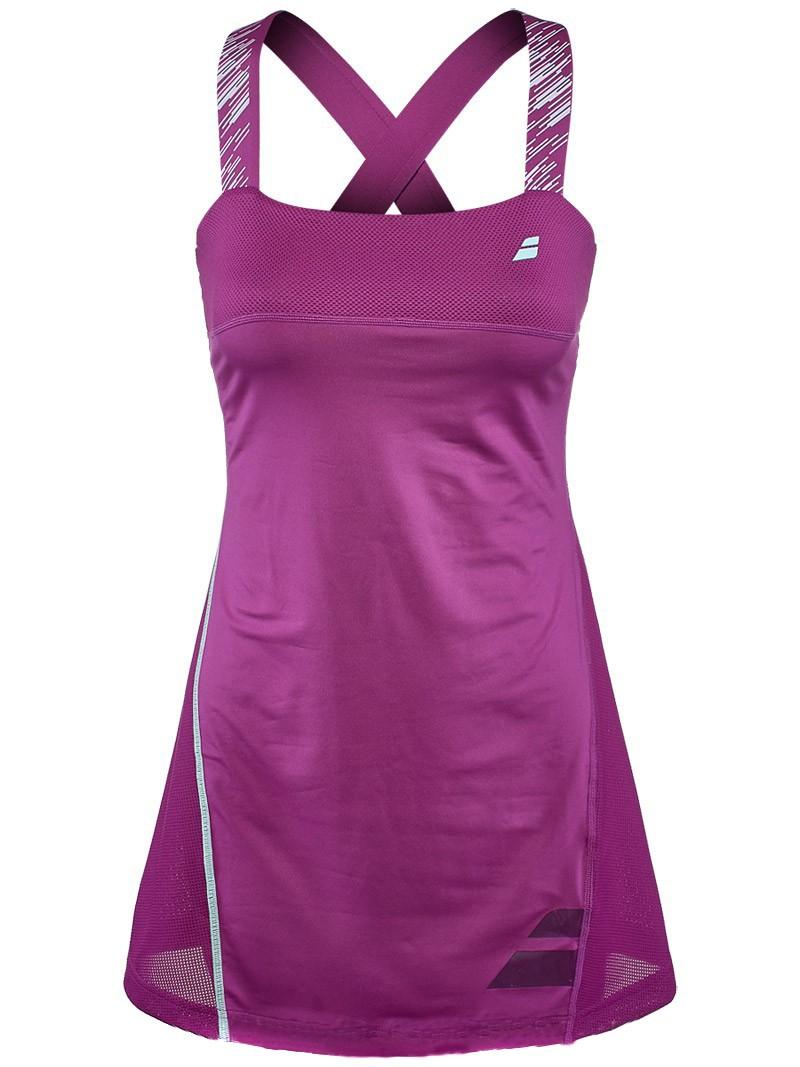 Sukienka tenisowa Babolat Performance Strap Dress Orchid - Wyprzedaż!