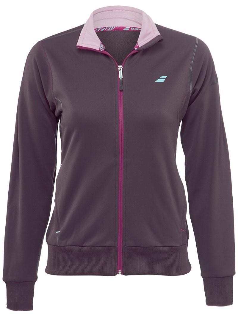Bluza tenisowa damska Babolat Performance Jacket Grey