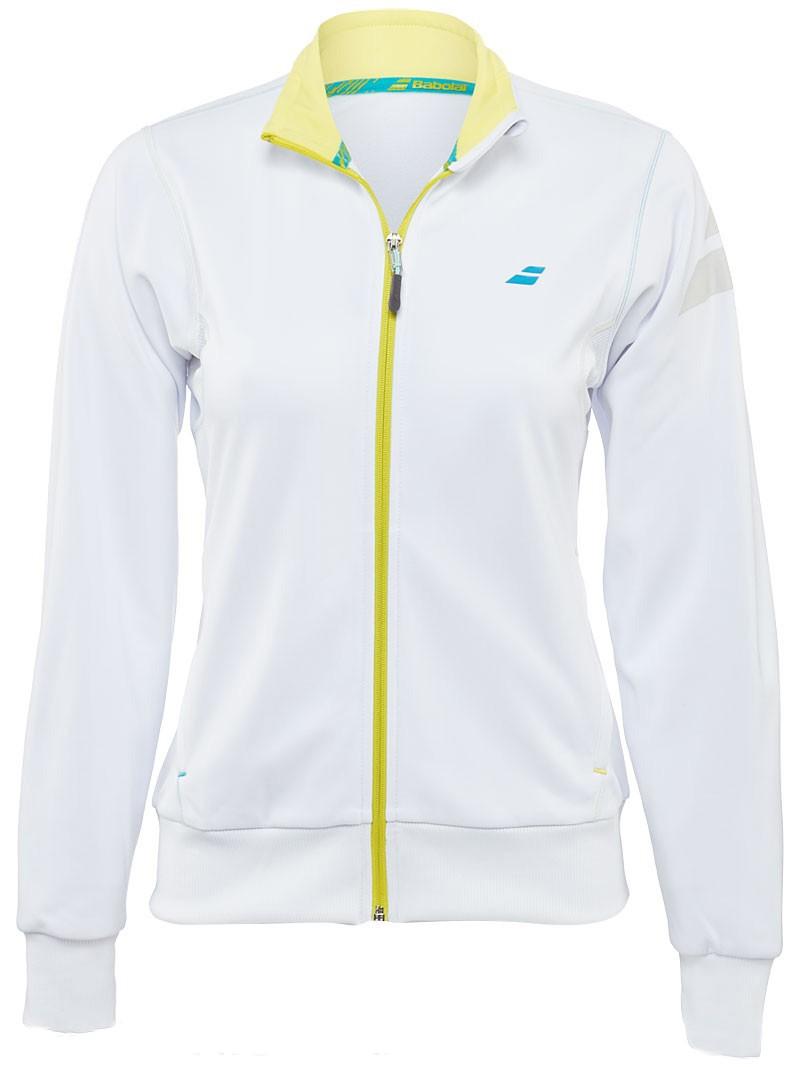 Bluza tenisowa damska Babolat Performance Jacket White