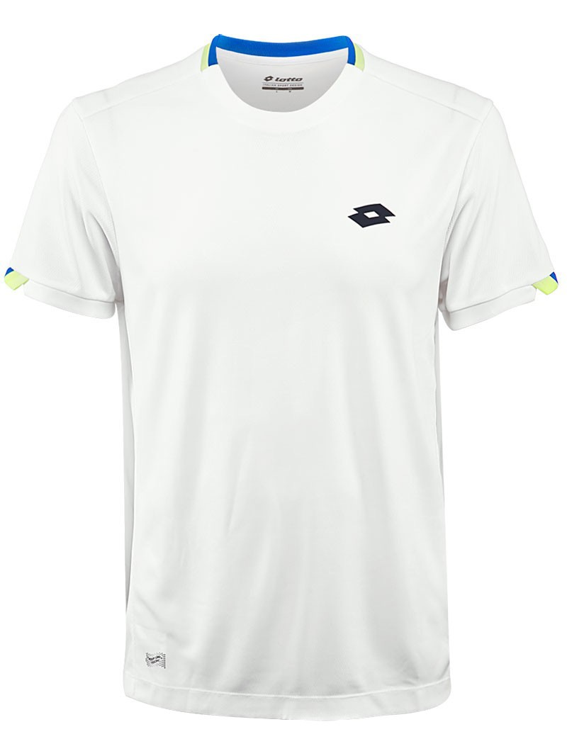 Koszulka tenisowa chłopięca Lotto Aidex III Tee
