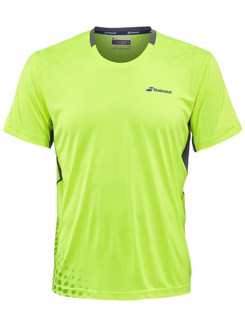Koszulka tenisowa Babolat Crew Neck Performance - wyprzedaż!