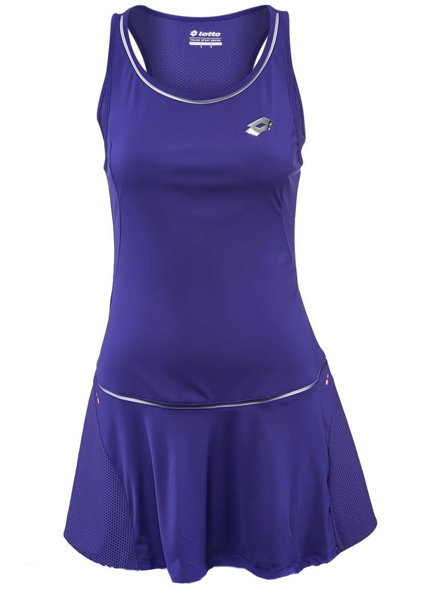 Sukienka tenisowa Lotto Nixia III Dress - blue bright