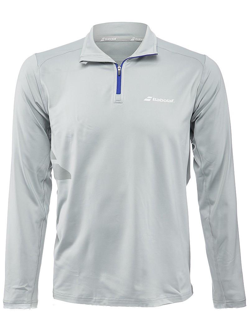 Bluza tenisowa Babolat 1/2 Zip Core Men Grey