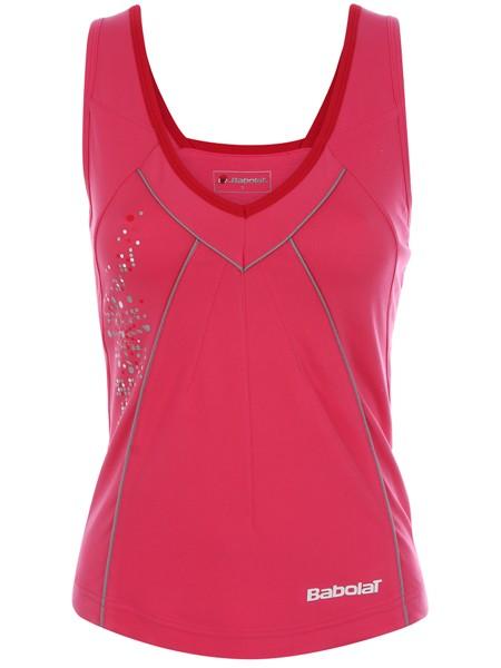 Koszulka tenisowa Babolat Performance Tank Women Pink