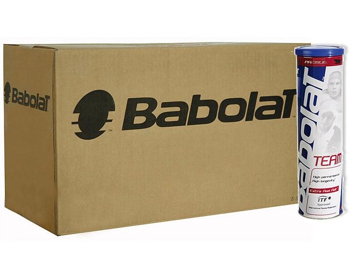 Piłki tenisowe Babolat Team - karton 18 x 4 szt