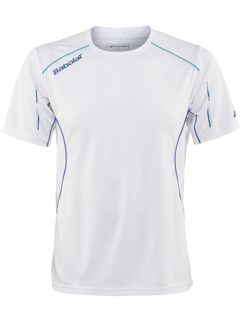 Koszulka tenisowa chłopięca Babolat Match Core White