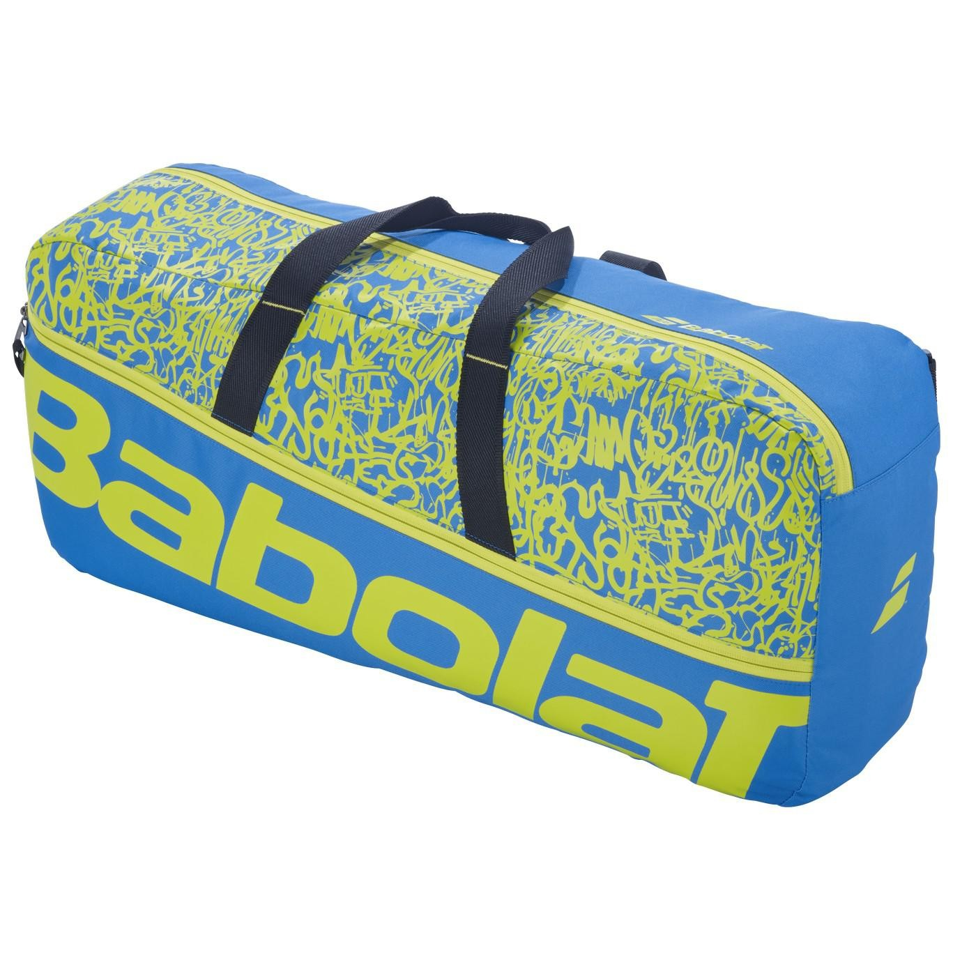 Torba tenisowa Babolat Duffle M Classic Blue/Yellow