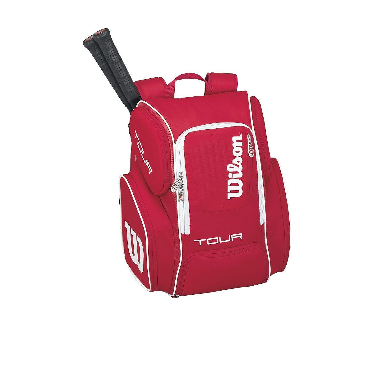 Plecak tenisowy Wilson Tour V Red Large Backpack