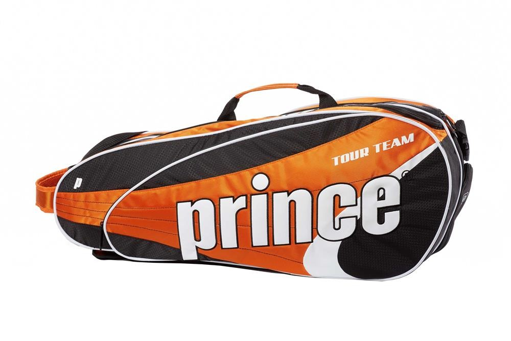 Torba tenisowa Prince Tour Team Orange 6 pack