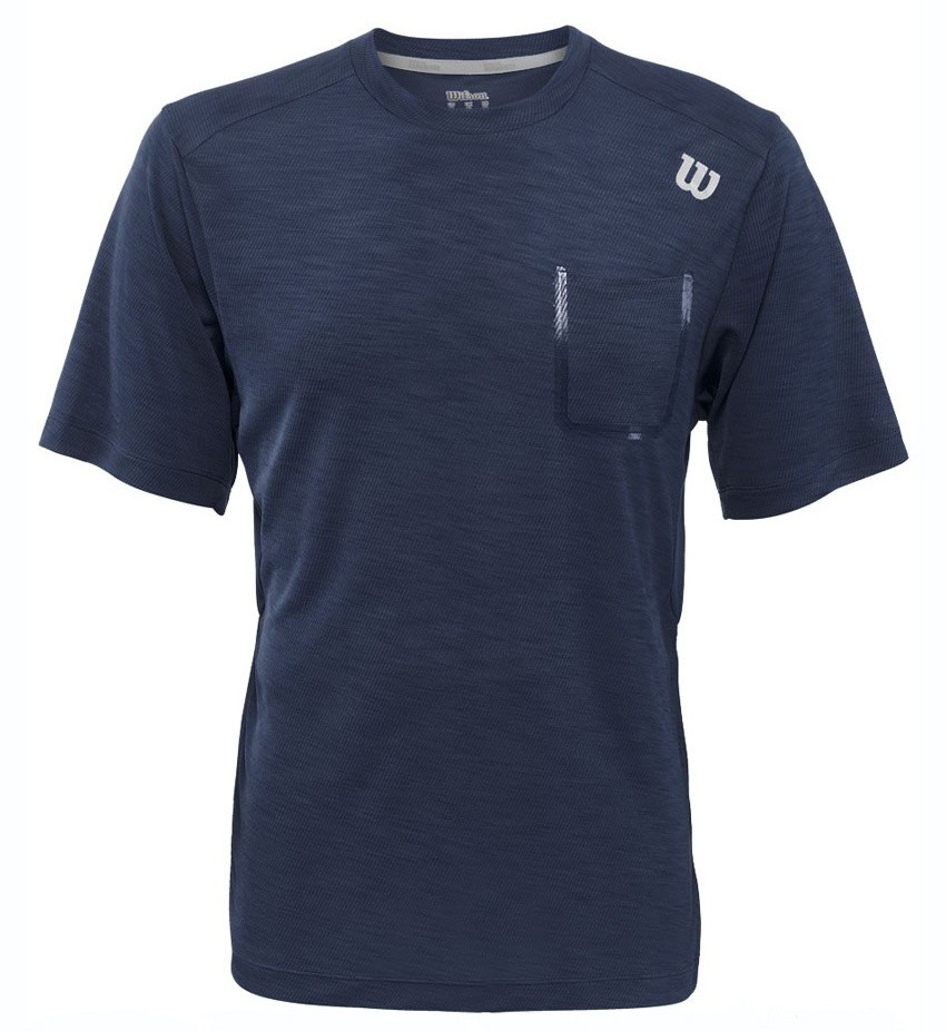 Koszulka Tenisowa Wilson Textured Crew - wyprzedaż!!